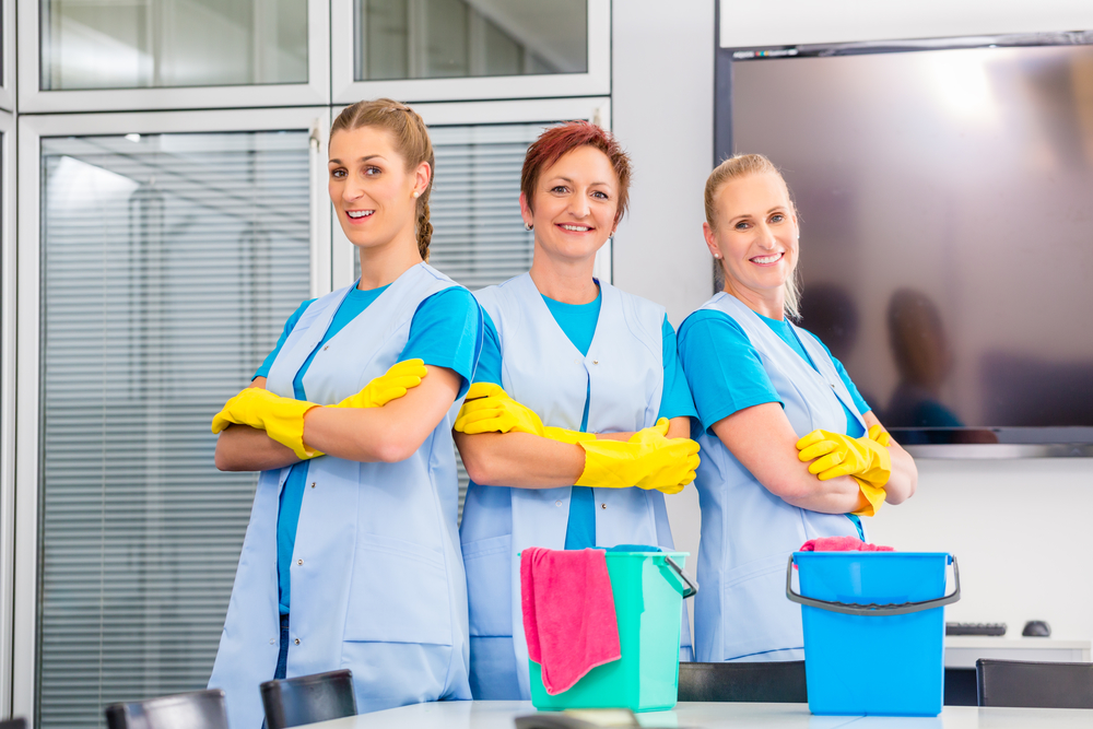 Identify the need to hire a cleaning company