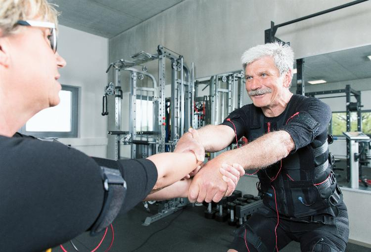 Ems for elderly- Get in shape easily