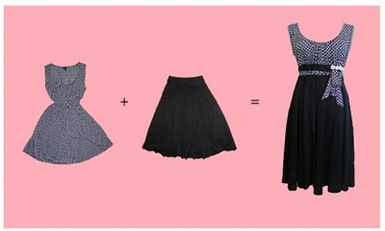 How to restyle and wear the same dress